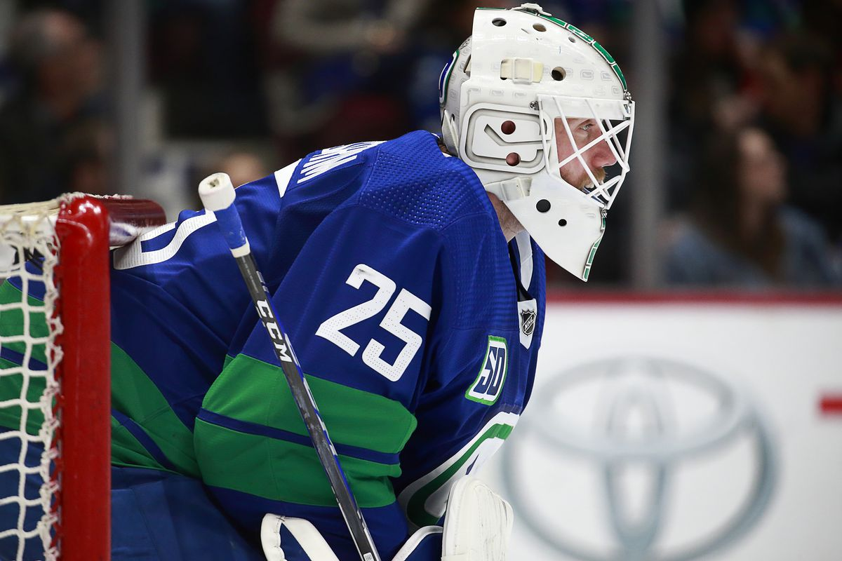 Looking Back On Vancouver Canucks Goaltender Jacob Markstrom S Uncharted Path Towards Nhl Stardom Nucks Misconduct