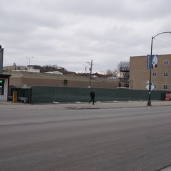The former Taco Bell building property