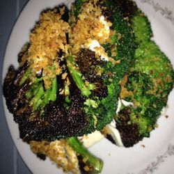 """Brocolli at Skál by <a href=""""https://www.flickr.com/photos/mishky/12043854936/in/pool-eater/"""">visual ekphrases"""