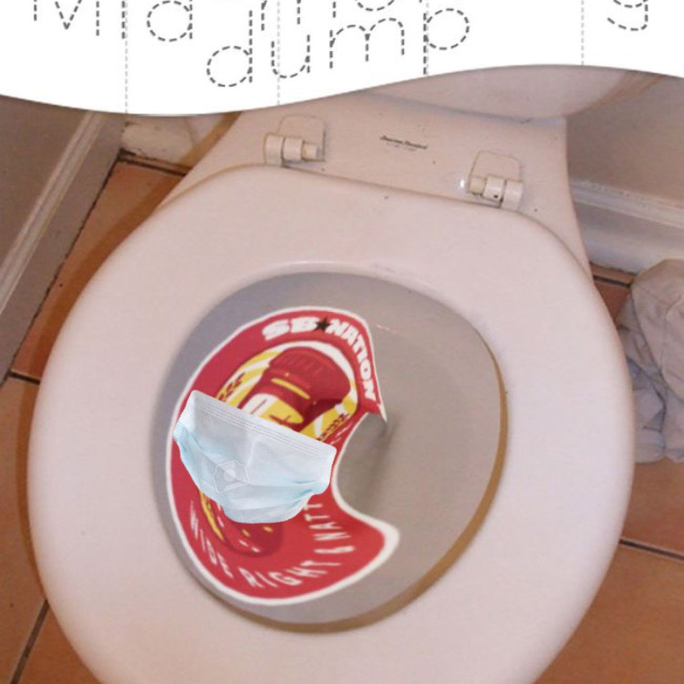 The Mid Morning Dump Meme D Wide Right Natty Lite