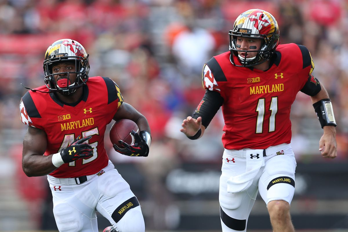 Maryland running back Brandon Ross needs just 13 rushing yards to reach 2,000 for his career