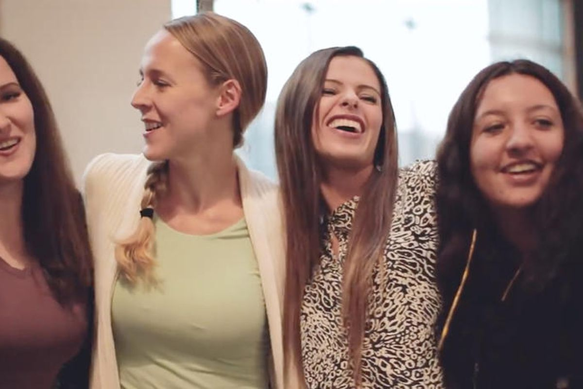 Dawn Armstrong, a Mormon mother in Utah at the far left, has launched a campaign to help homeless teens. She was once a homeless teen herself.