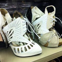 Nicholas Kirkwood for Rodarte heels at the February sale