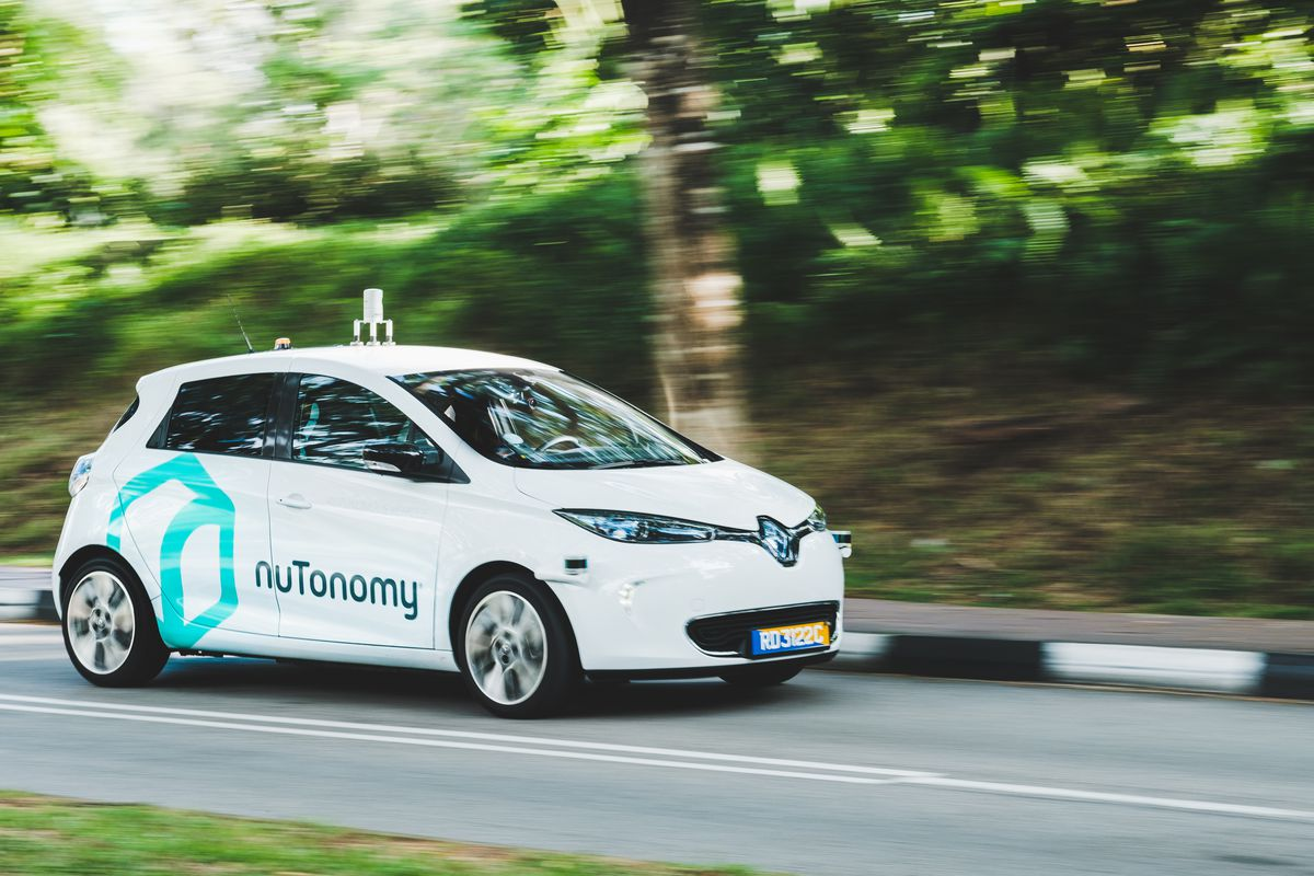 Delphi to buy self-driving tech startup nuTonomy for $450 mln