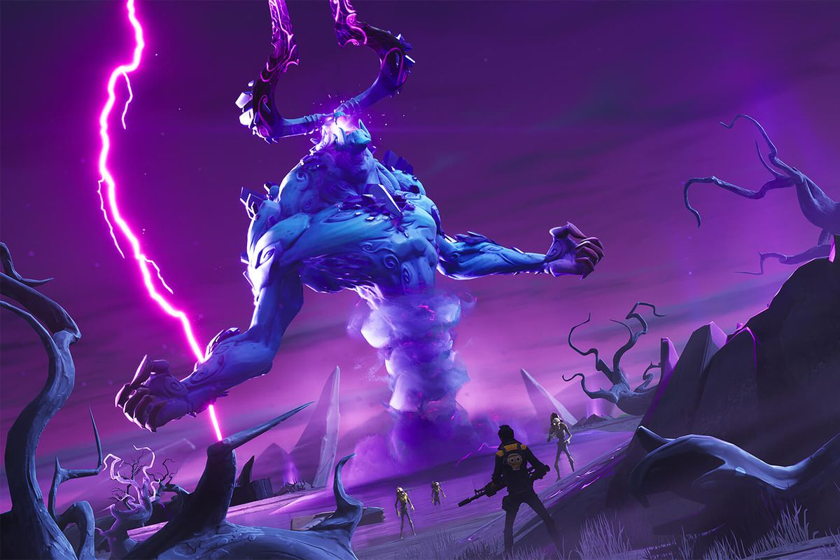 Fortnite Adds A Raid Boss To Battle Royale For Halloween