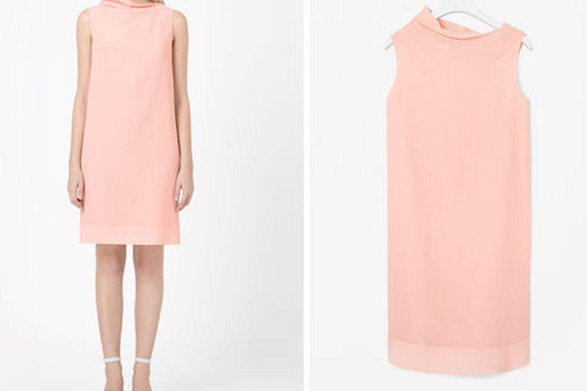 """COS cotton silk dress, <a href=""""http://www.cosstores.com/us/Shop/Women/Summer_Offer/Cotton_silk_dress/239674-15167112.1#c-15133326"""">on sale for $94</a>"""