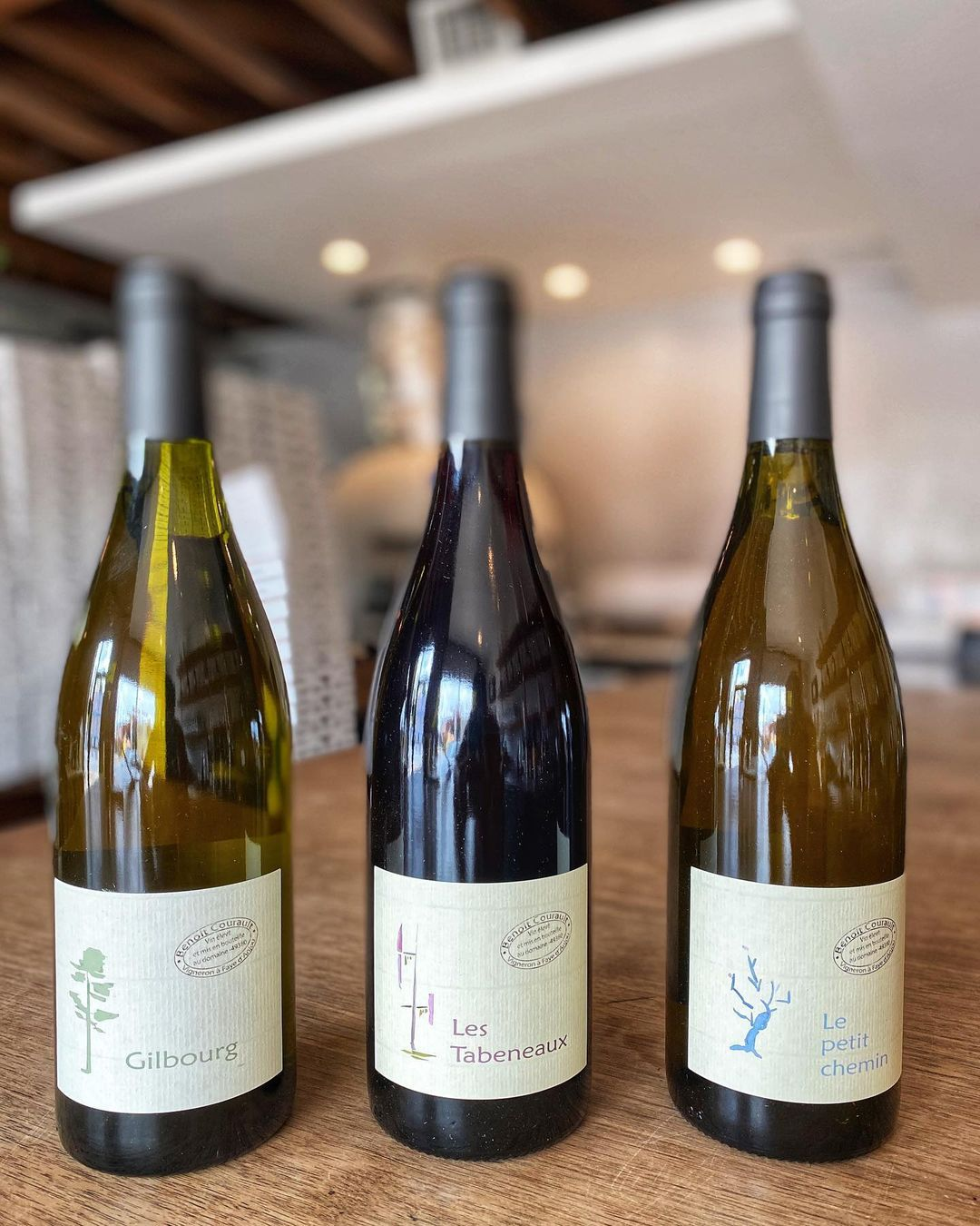 Wines from producer Benoit Courault at Bufalina
