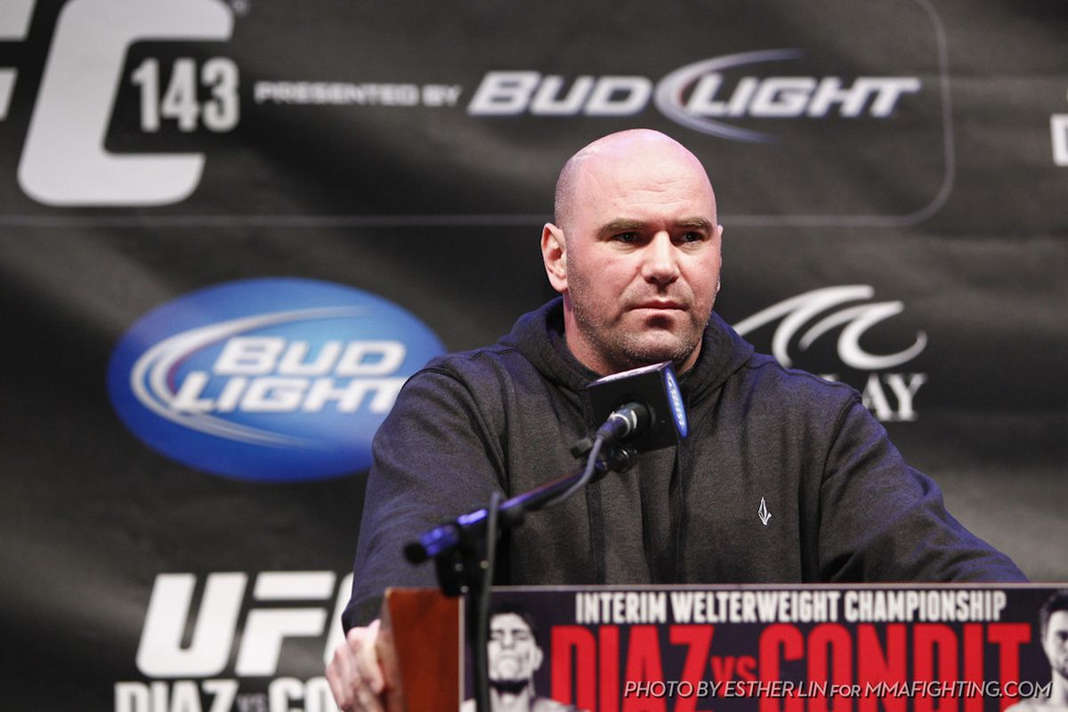 Dana White UFC 143 by Esther Lin