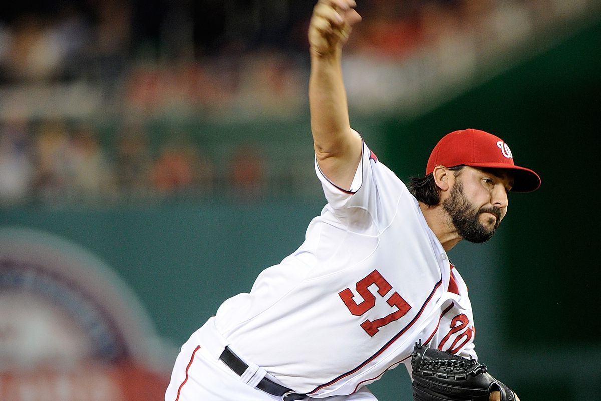 Tanner Roark didn't look great out of the bullpen in April, but he's looking like he might turn the corner in May.