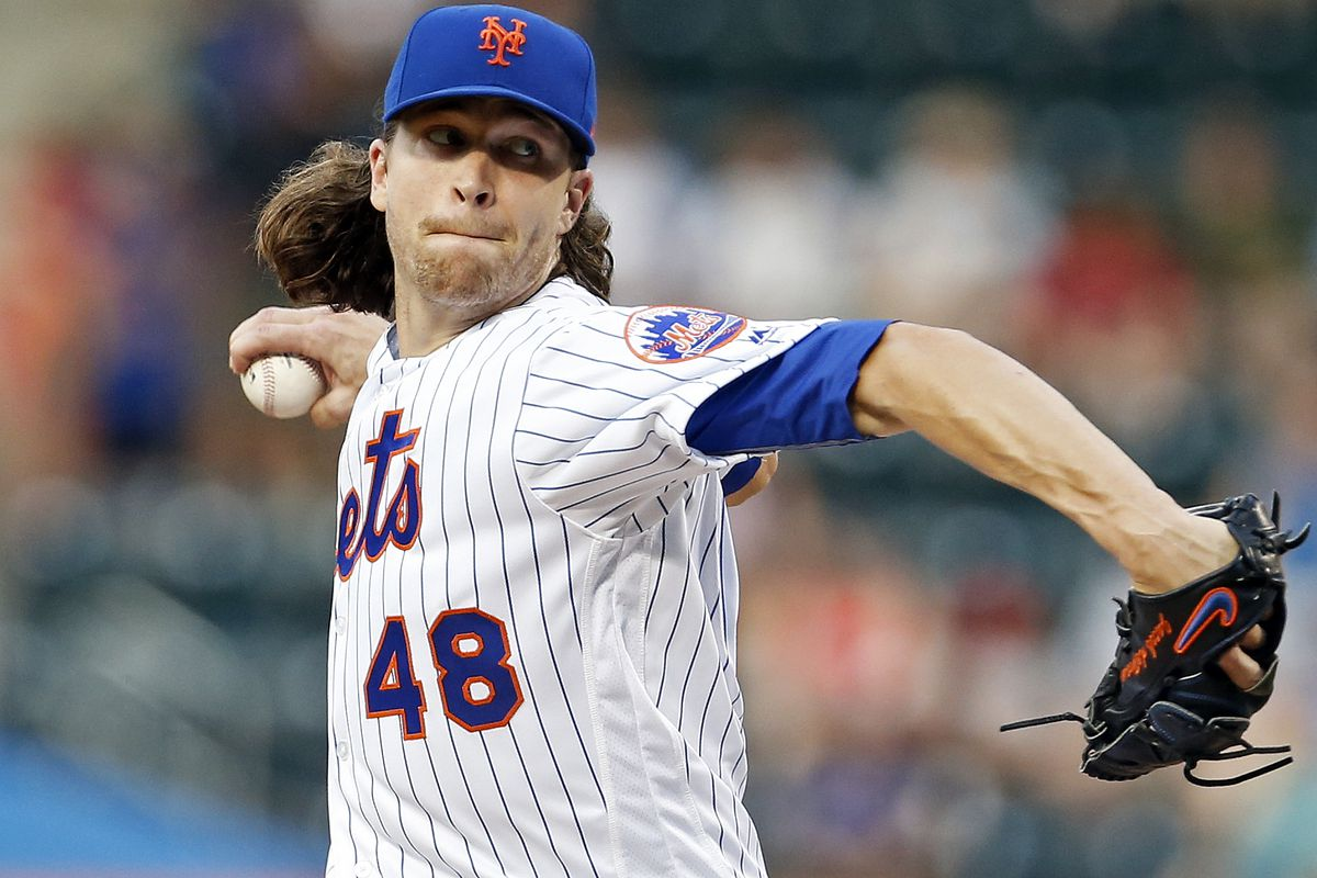 DeGrom homers, dominates on mound as Mets stop Nationals 5-1