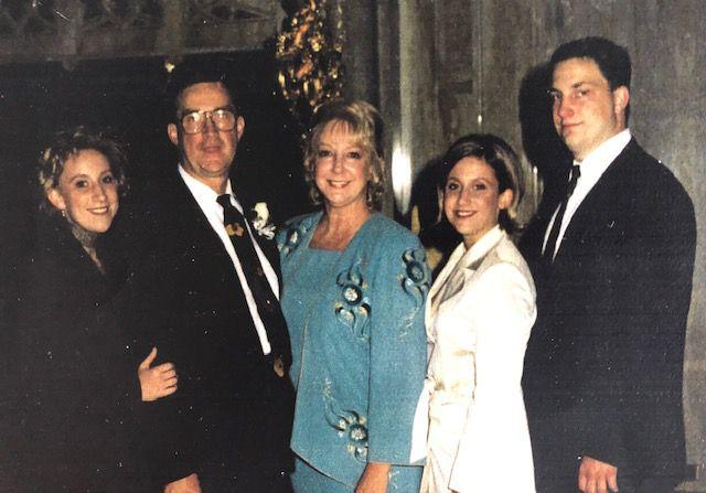 Vanessa Kolpak (from left) with her father Paul Kolpak, mother Vivian Kolpak, sister Alexis Kolpak and brother Todd Kolpak.