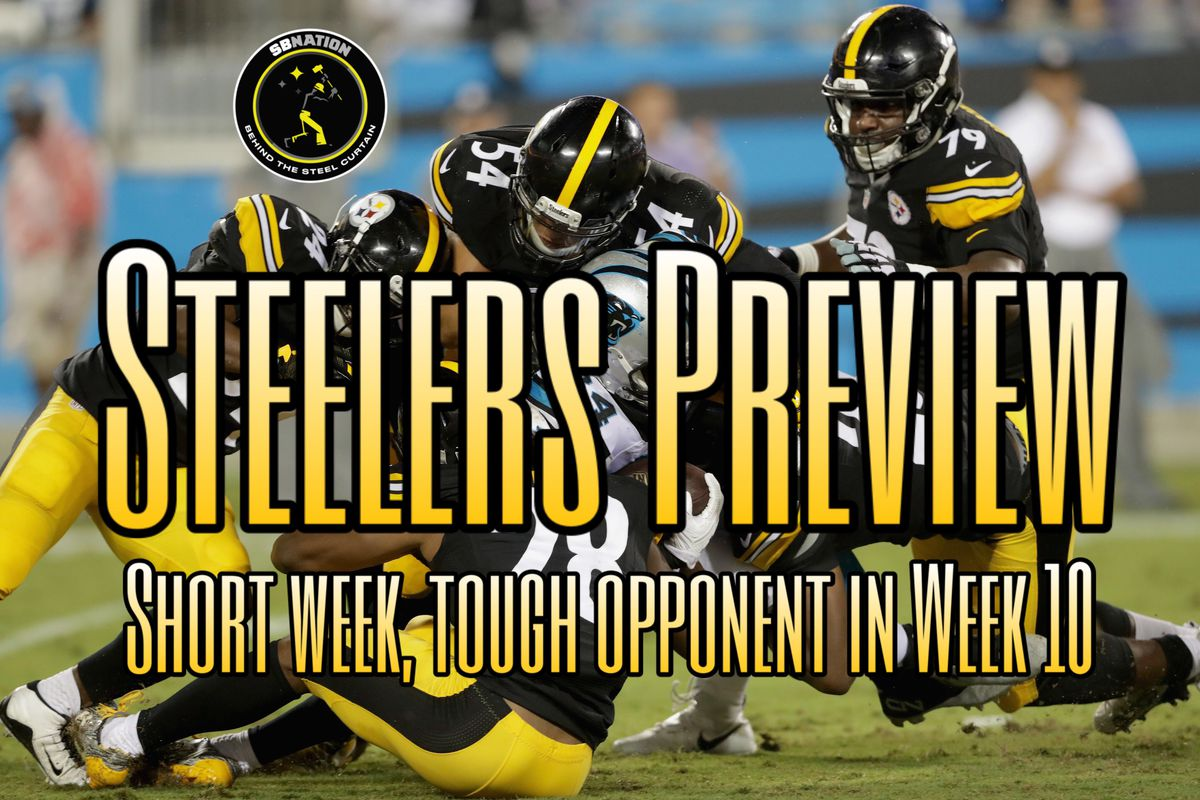 f9023f12 As the Pittsburgh Steelers resume their November schedule heading into  their Week 10 game vs. Carolina Panthers on Thursday Night Football,  there's a surge ...
