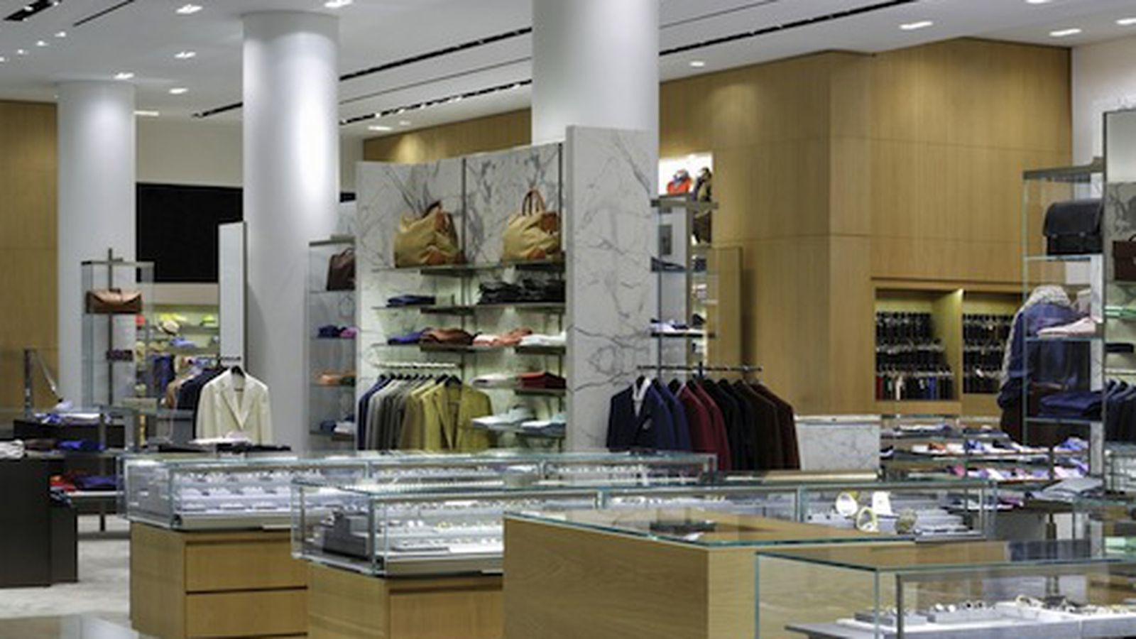 Barneys debuts its shiny new men 39 s accessories floor for Floor 6 reloaded menu