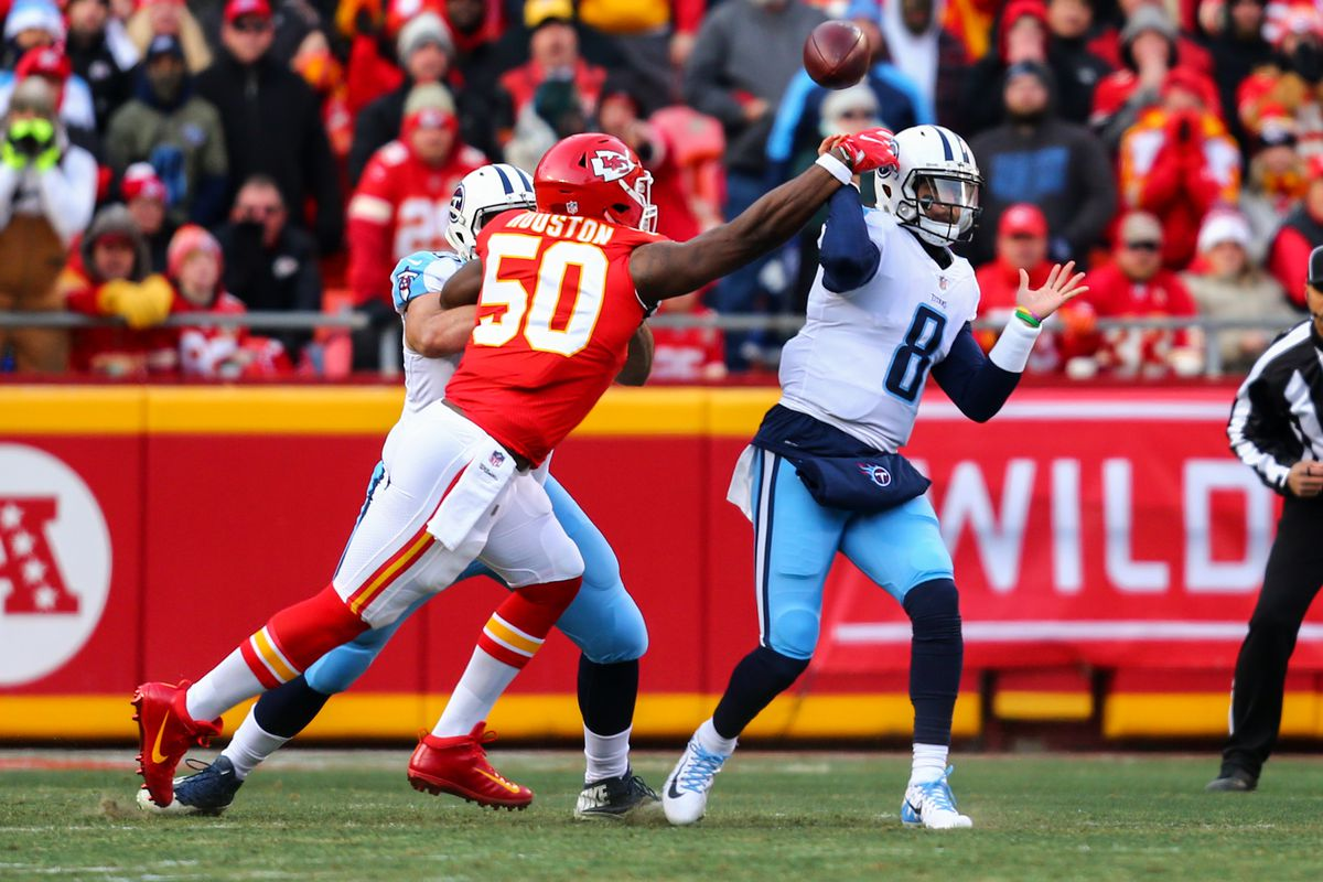 outlet store 8cf10 6c1a2 NFL playoffs 2018  Bracket and schedule update after Titans vs. Chiefs. A  wild one in Kansas City ...