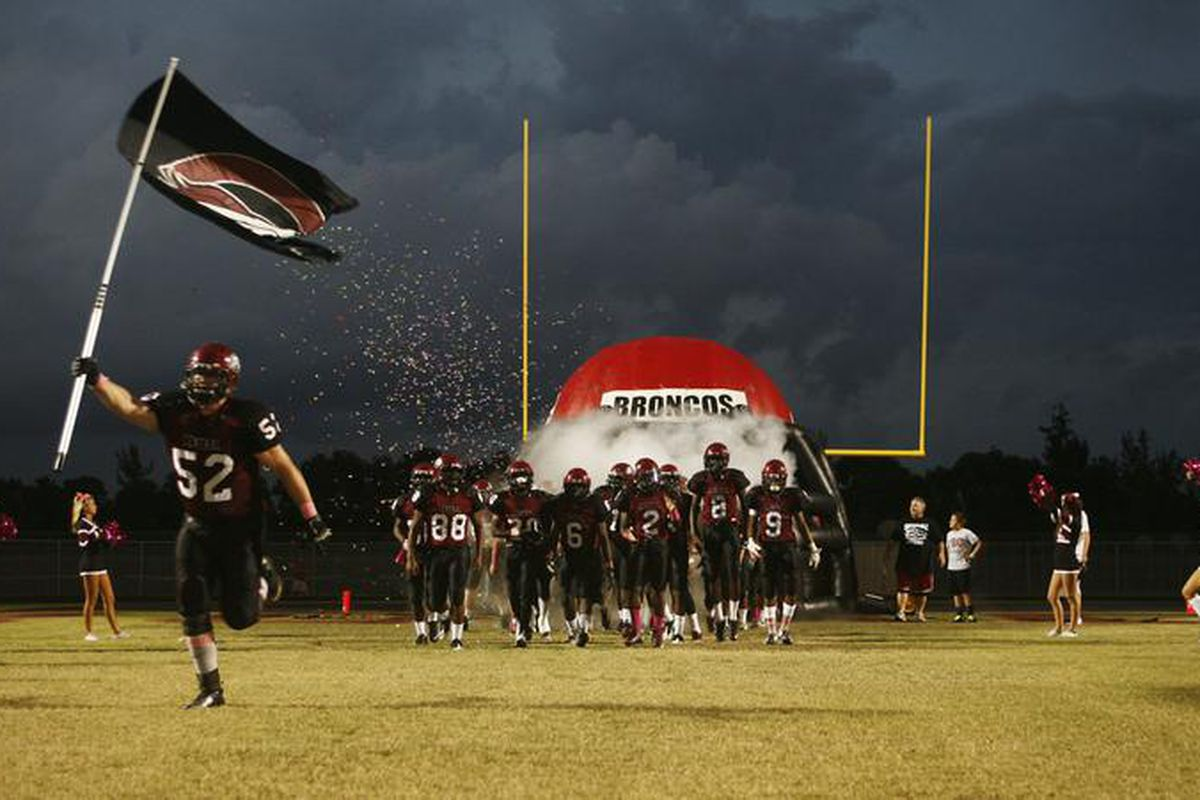 McDermott leads Palm Central into battle.