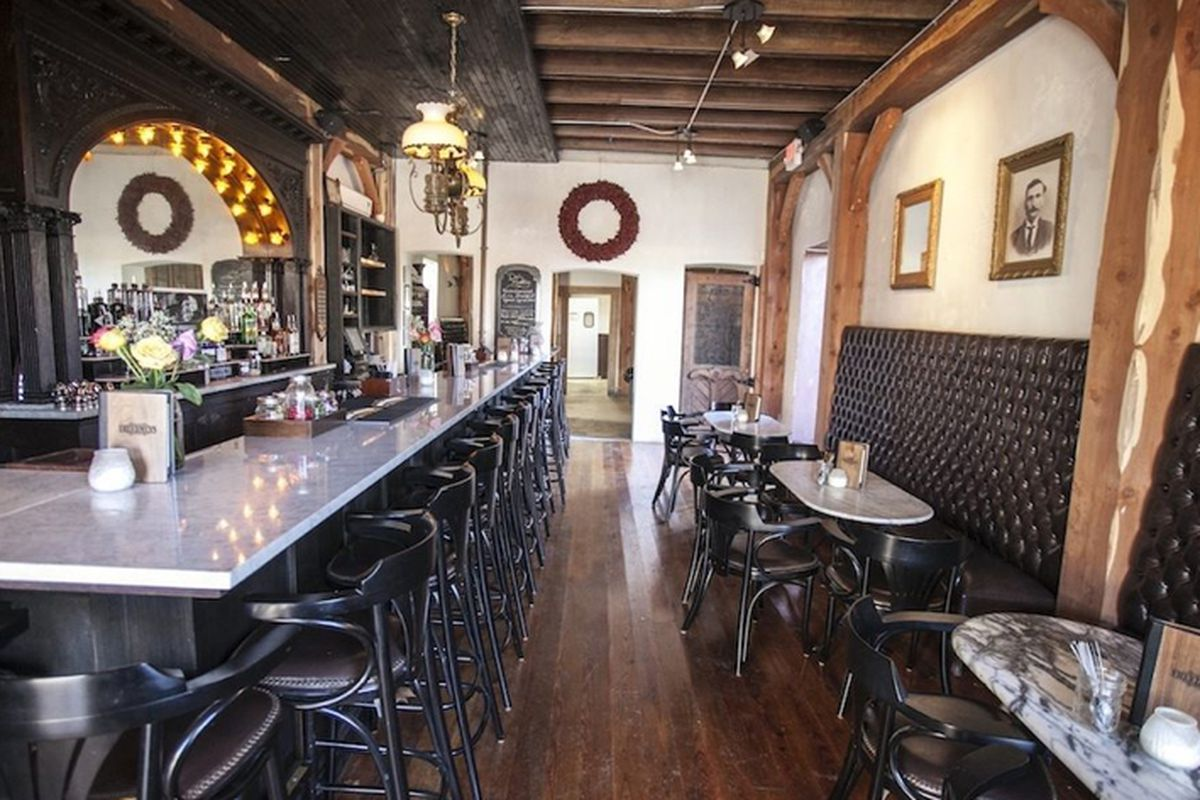 """<a href=""""http://austin.eater.com/archives/2012/12/19/check-out-freedmens-historic-building-and-antique-bar.php"""">Freedmen's, Austin, Texas.</a>"""