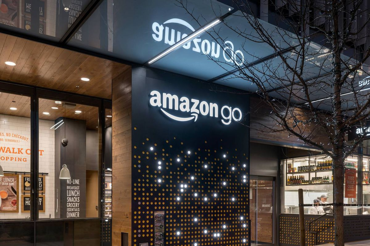 Amazons Cashier Free Go Stores May Only Need Six Human Employees Source We Can Implement This Circuit In Numerous Real Life Locations