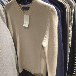 Men's sweater, $99 (was $325)