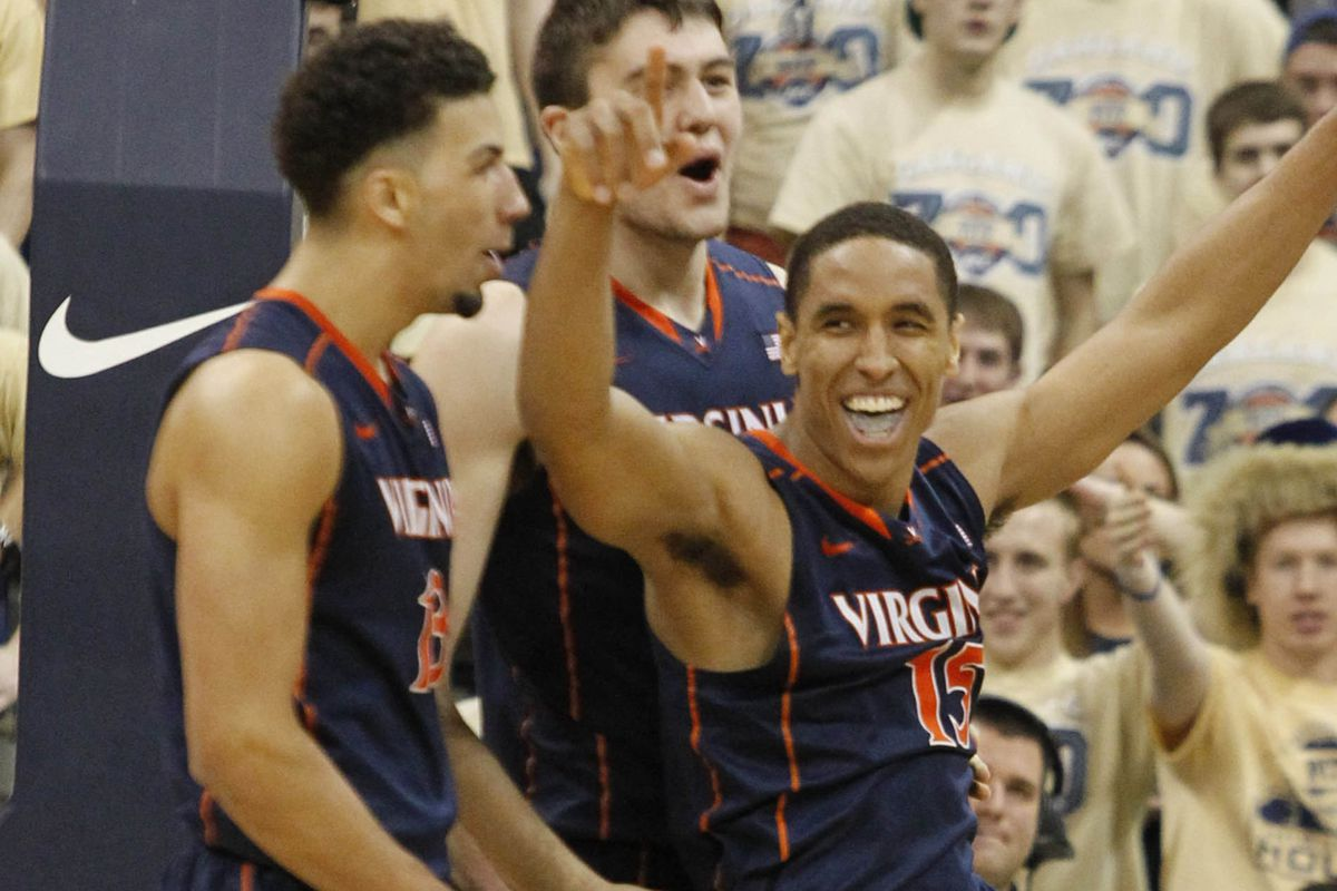 Looking Forward The 2014 2015 Virginia Basketball Roster Streaking The Lawn