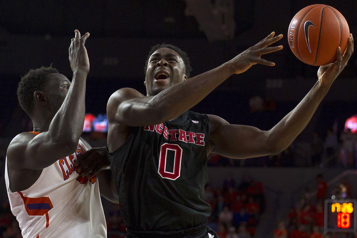 NCAA Basketball: North Carolina State at Clemson