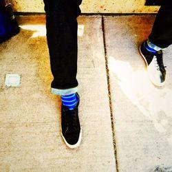 Eli Kulp's socks