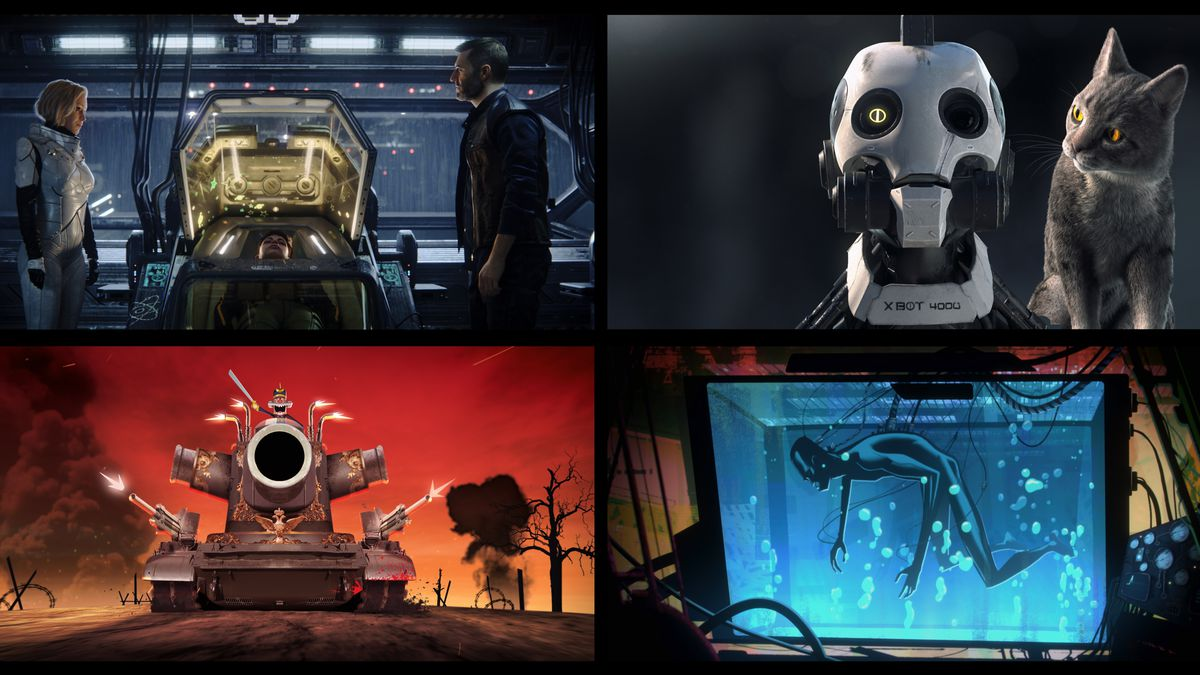 Netflix's Love, Death, and Robots, broken down by love