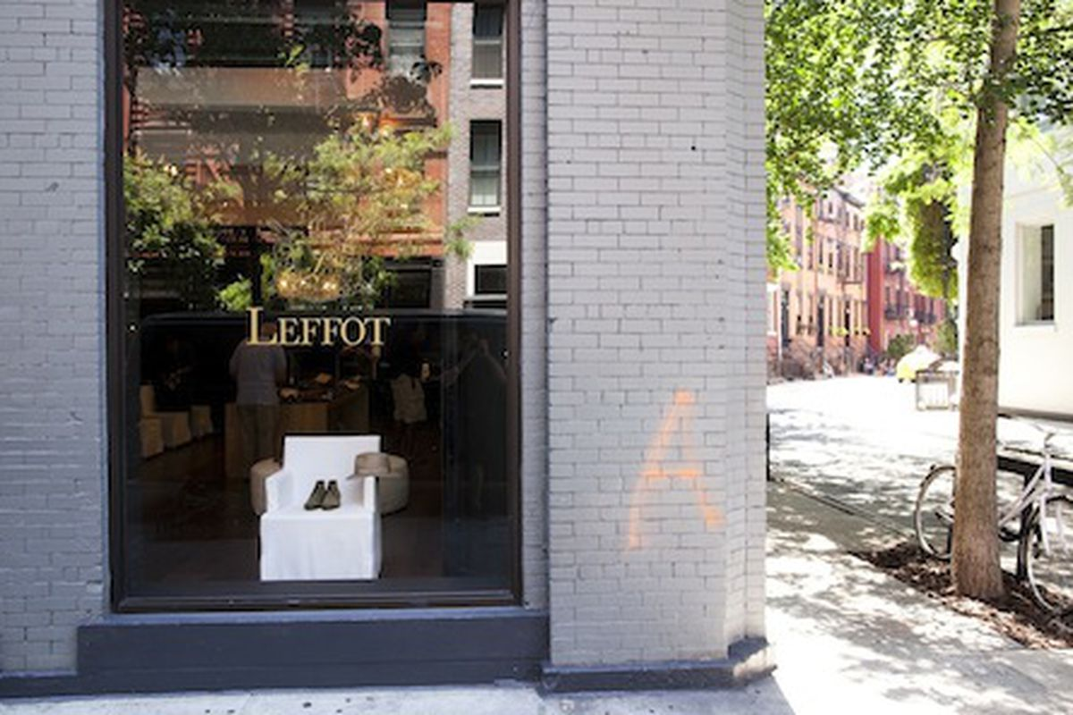 Leffot on Christopher Street photographed by Brian Harkin