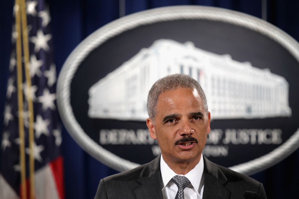 US Attorney General Eric Holder discusses the Michael Brown shooting.
