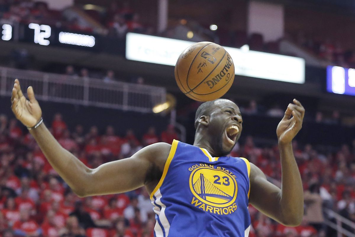f515f6fc904 Explain One Play  Draymond Green puts away Houston - Golden State Of ...