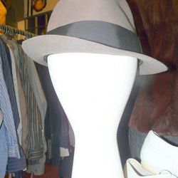 Custom-made never-worn vintage fedora, $25