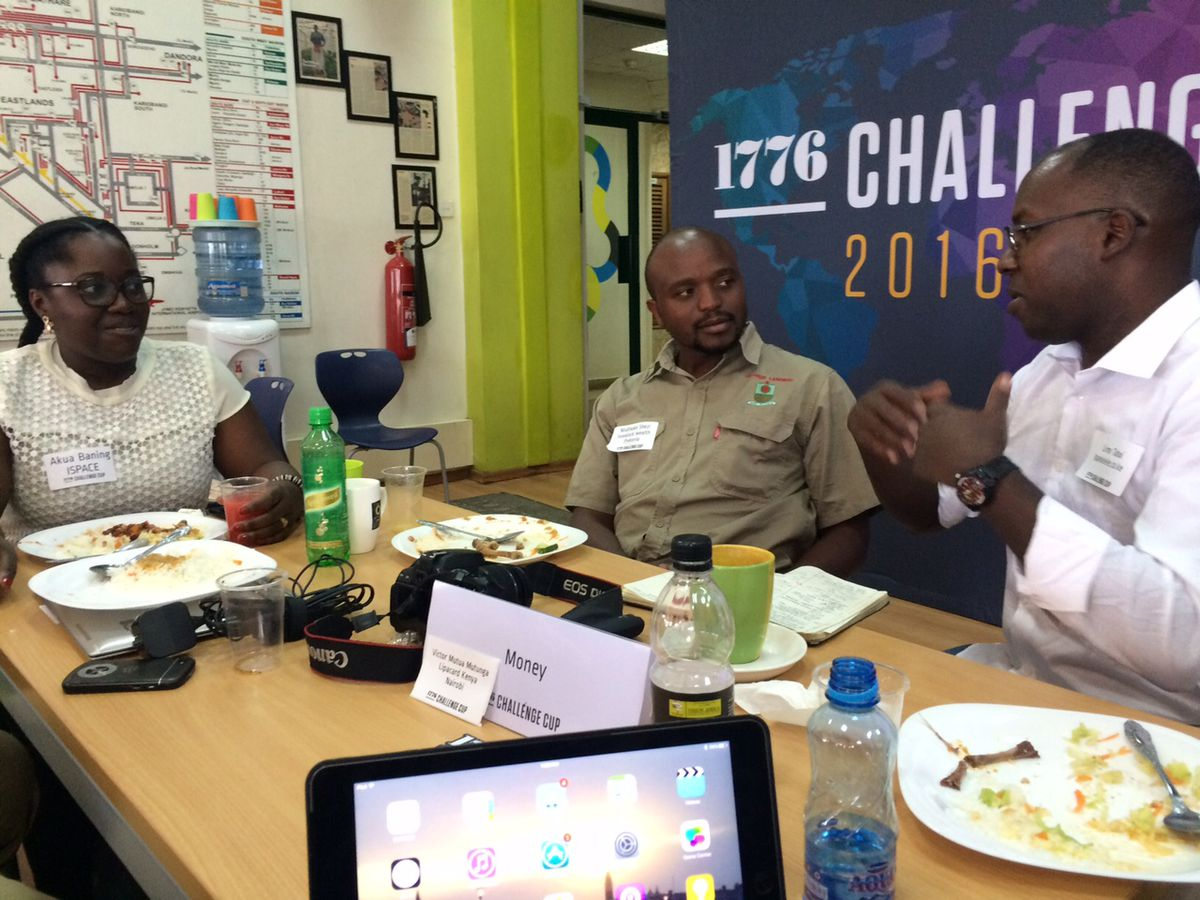 At the regional finals of the third annual Challenge Cup, hosted this year in Nairobi