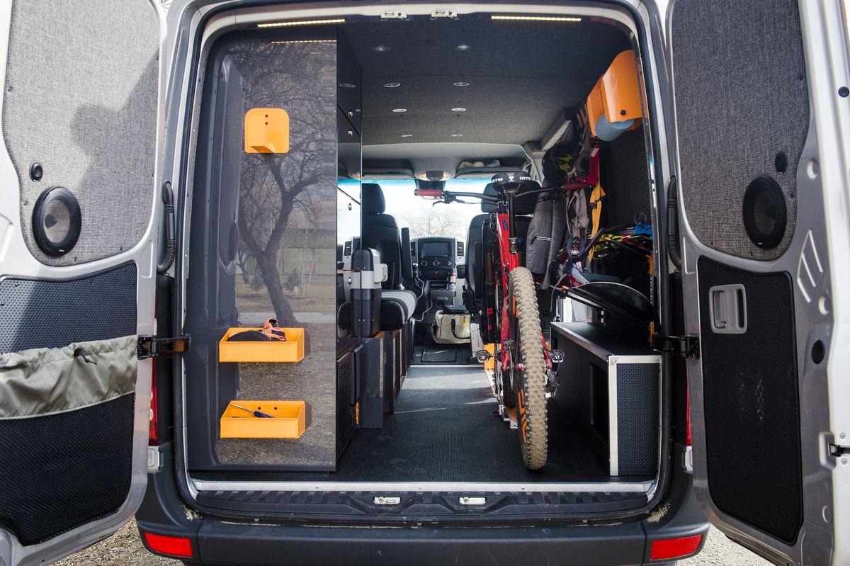 Custom Camper Van Merges Sleek Design With Space For Gear
