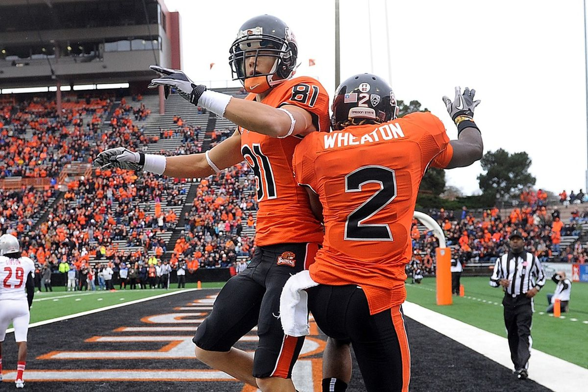 Oregon St. is the early favorite as the designated home team for the Alamo Bowl, even though Texas is only 80 miles from home.
