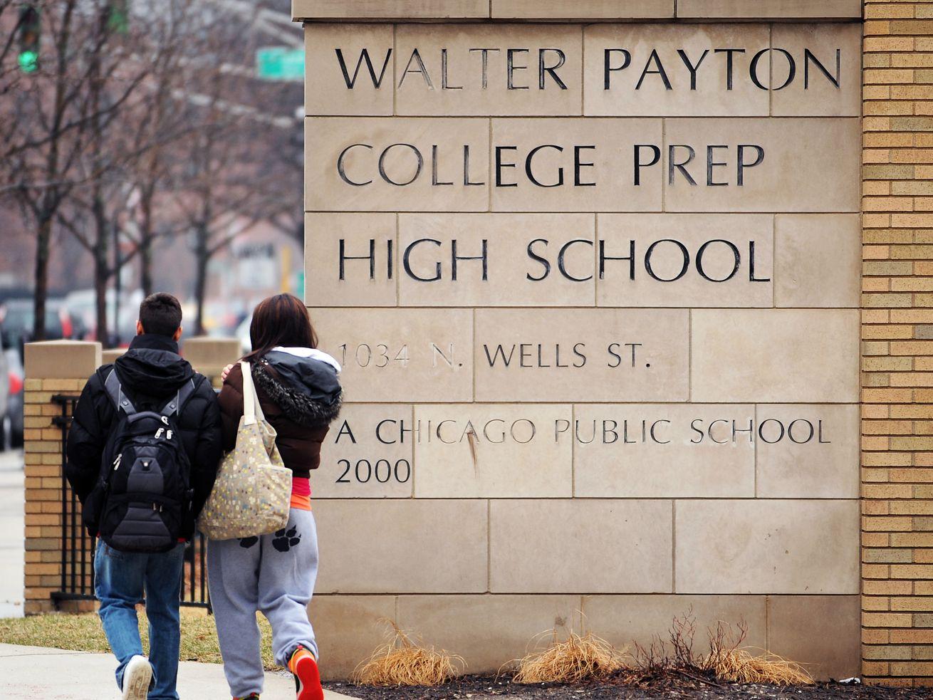 Walter Payton College Prep, 1034 N. Wells St.