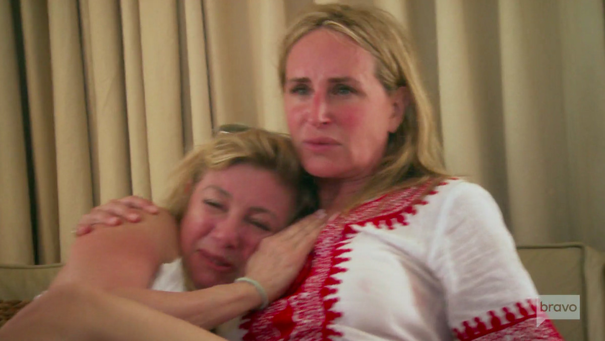 RHONY cast members Sonja and Ramona on their cruise from hell