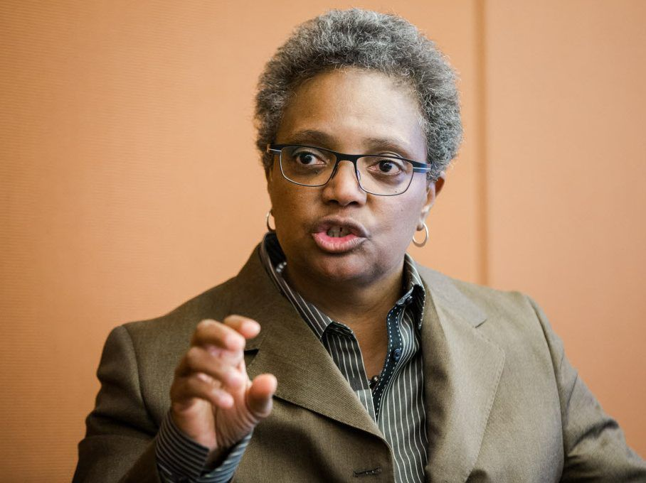 """Lori Lightfoot called recent comments from Mayor Rahm Emanuel """"breathtaking"""" in their insensitivity. 