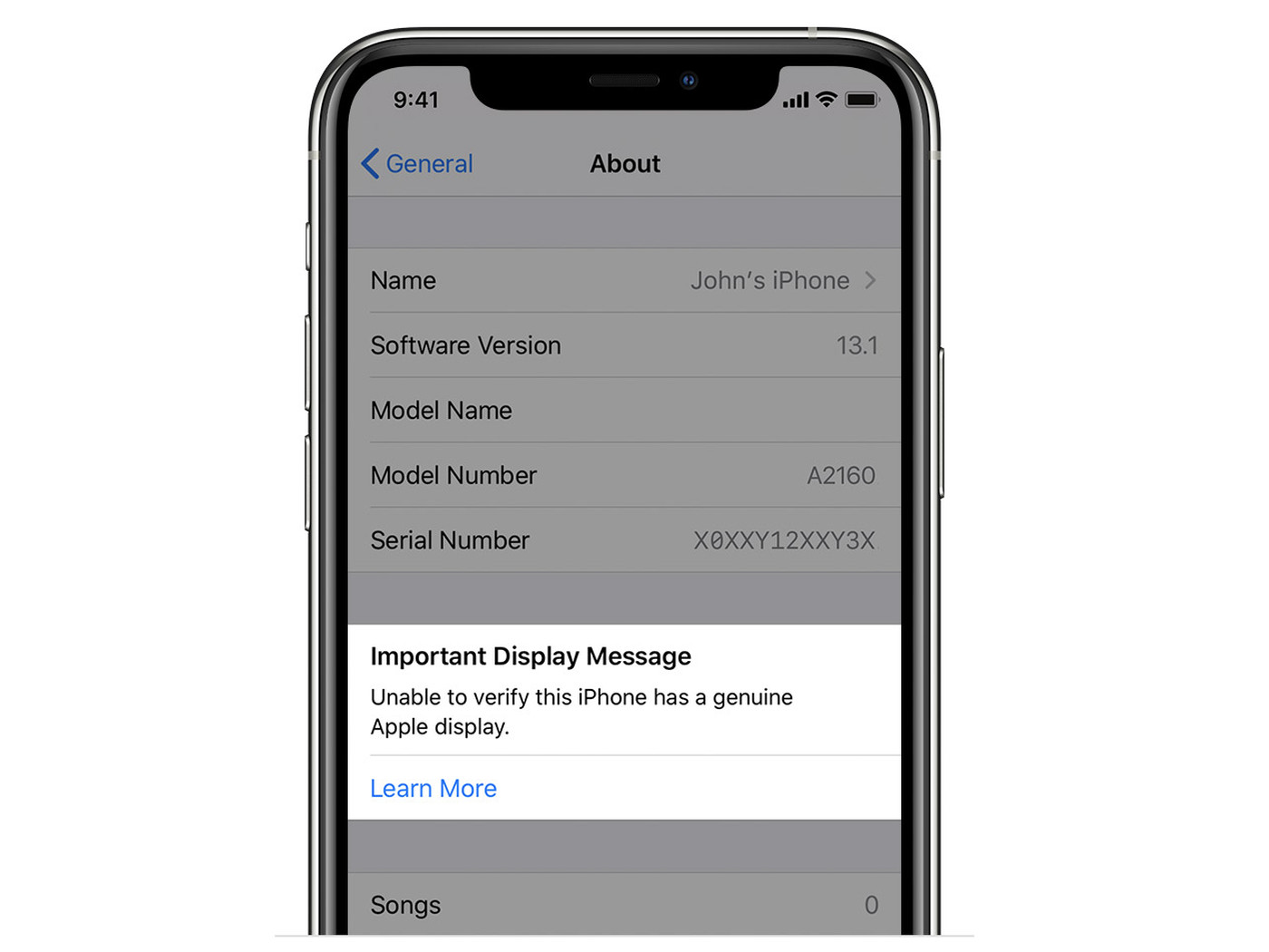 Apple S Iphone 11 And 11 Pro Will Show A Warning If They Can T Verify A Replaced Screen The Verge
