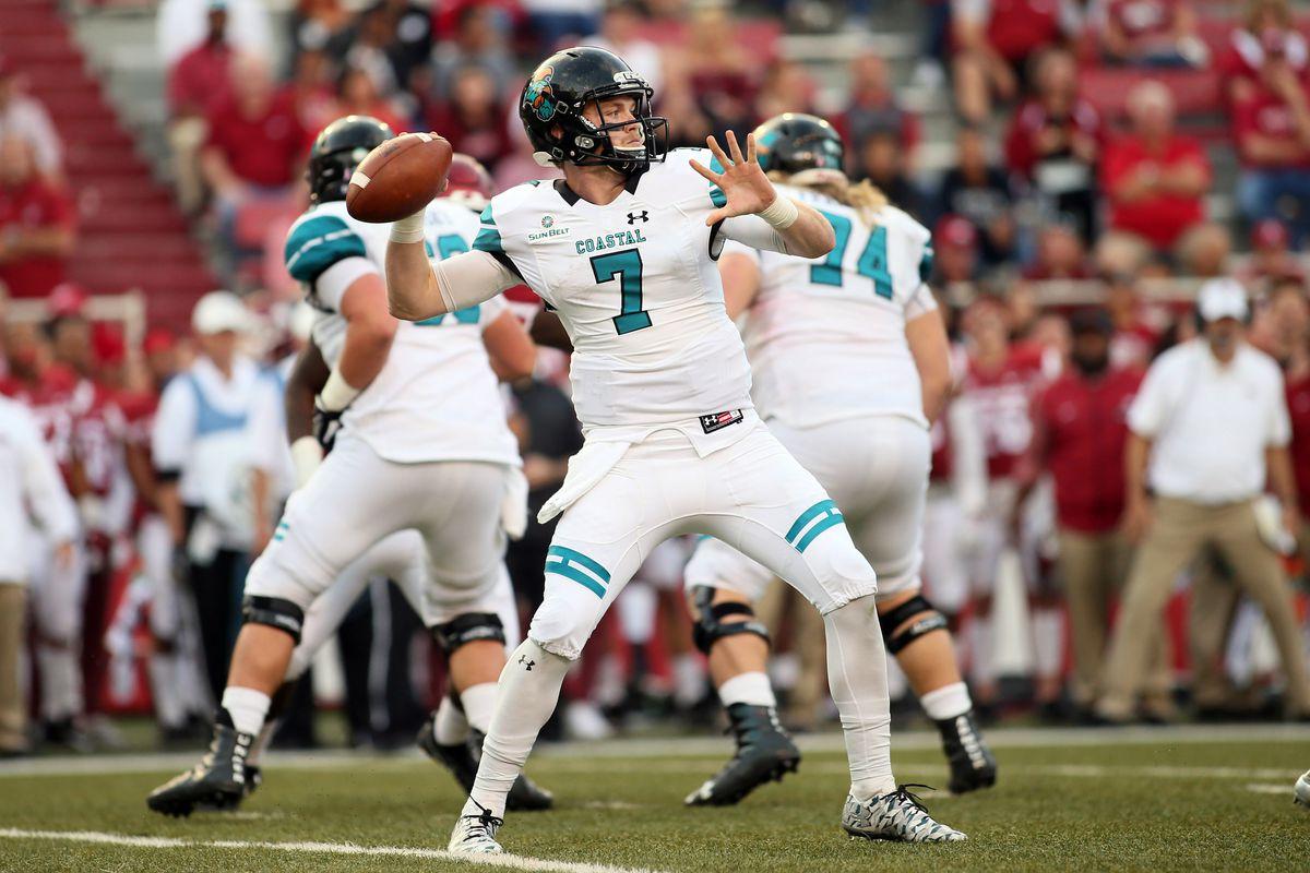 NCAA Football: Coastal Carolina at Arkansas