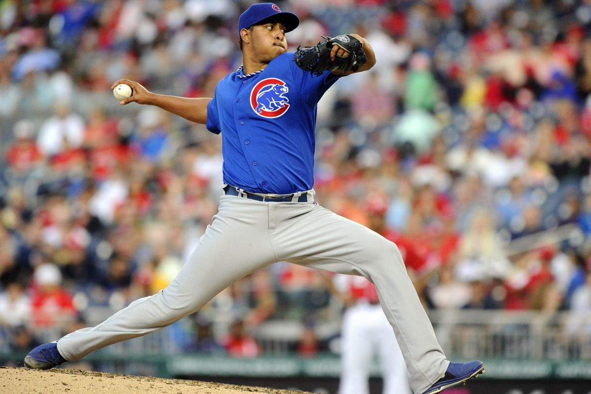 Marmol, here against the Nationals in May, pitched for the Lookouts