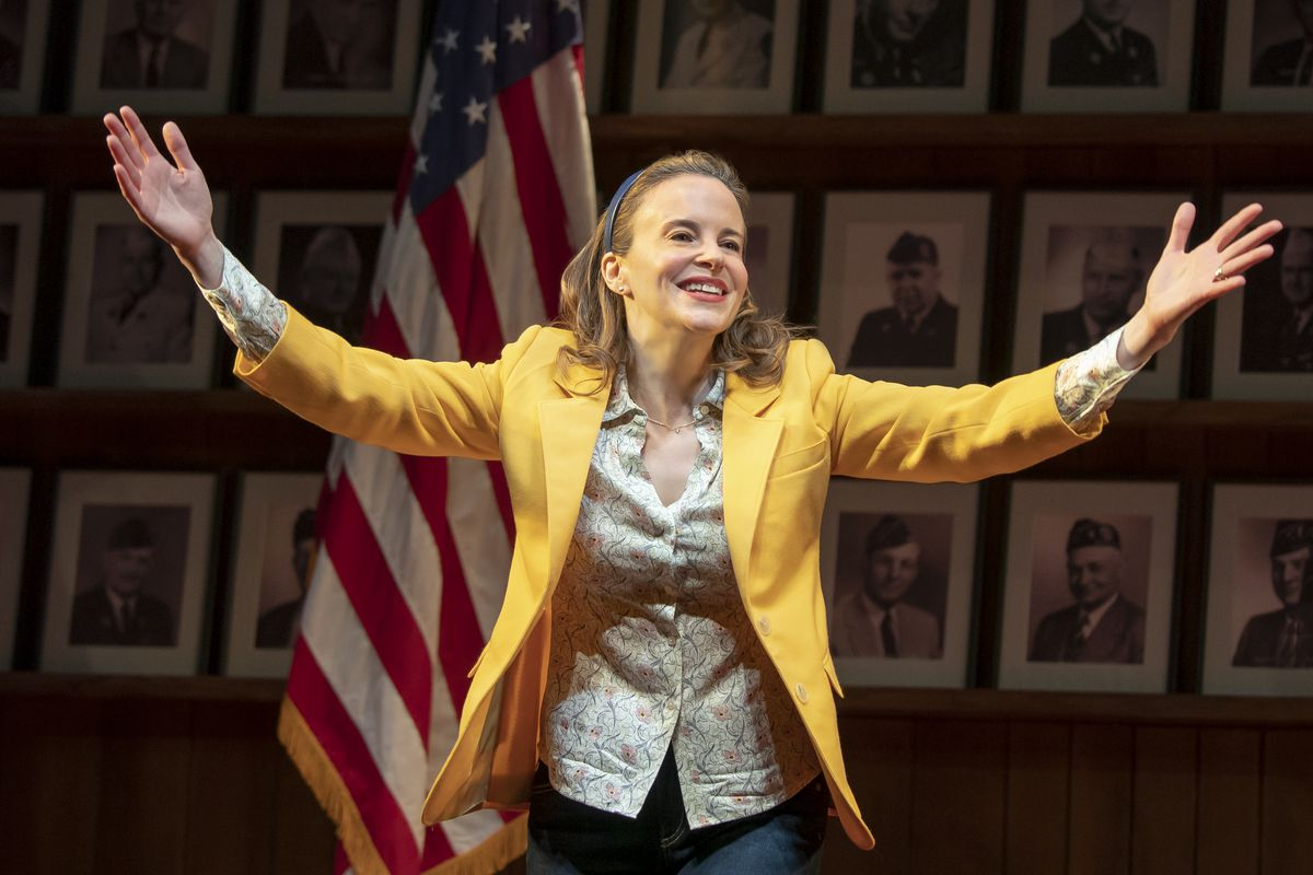 """Maria Dizzia stars in the national touring production of """"What the Constitution Means to Me."""""""