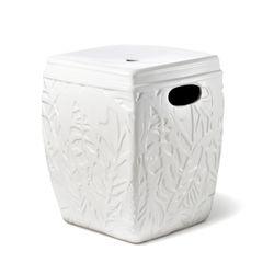Stoneware stool, $80