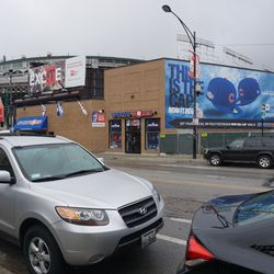 Sportsworld Chicago remains at the corner of Clark and Addison
