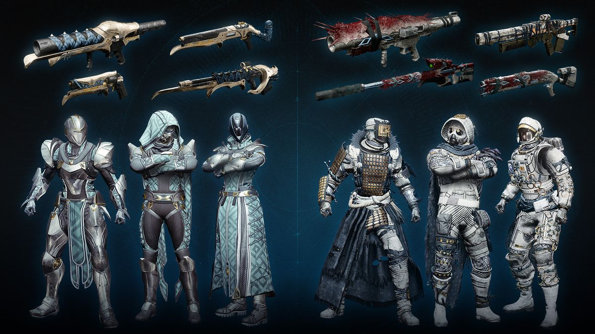 Destiny 2 reissued Forsaken Shadowkeep items