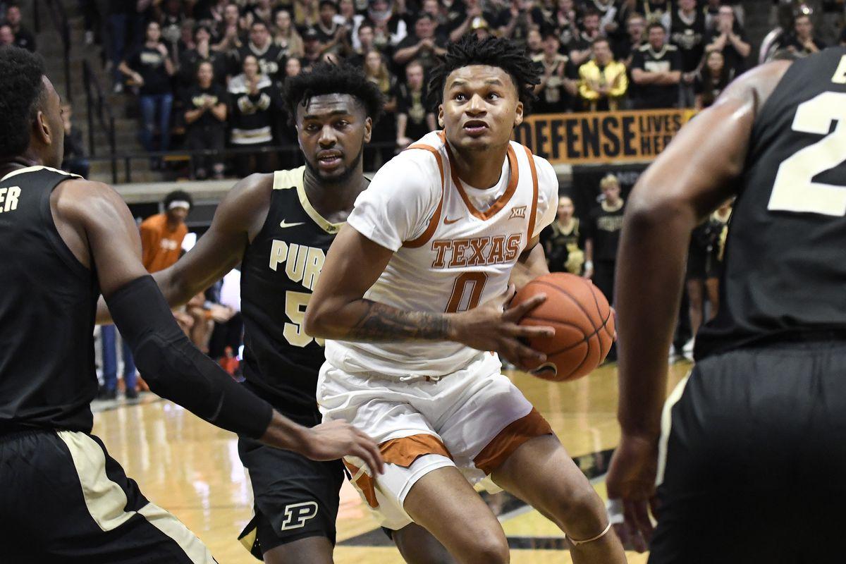 NCAA Basketball: Texas at Purdue