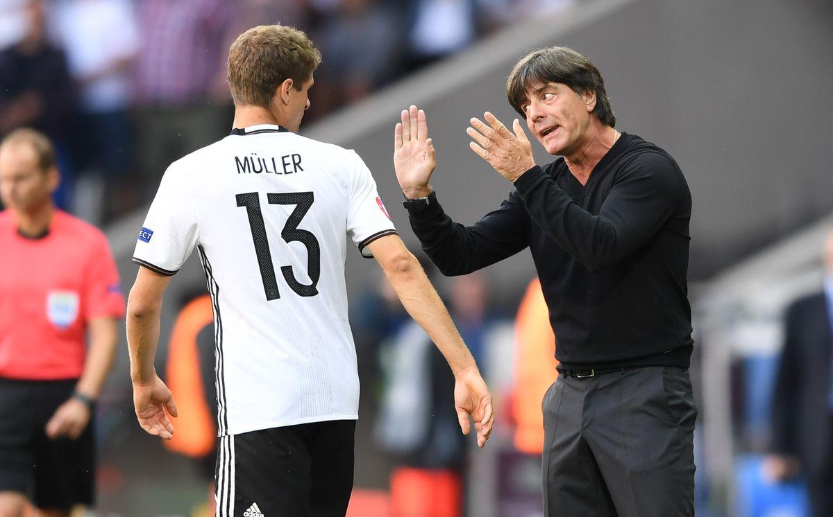 Fussball Europameisterschaft Achtelfinale 2016: Deutschland - Slowakei
