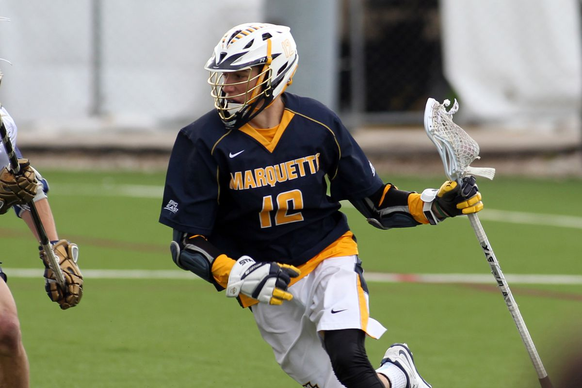 Conor Gately is Marquette's all time leading scorer with 106 career points.
