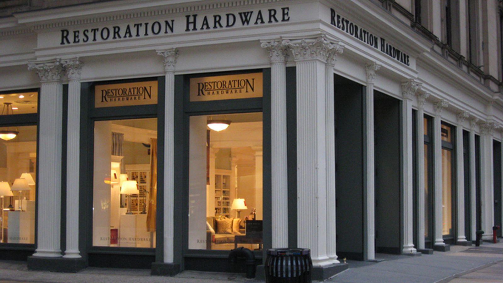 Restoration Hardware Gets New Look New Name In Flatiron