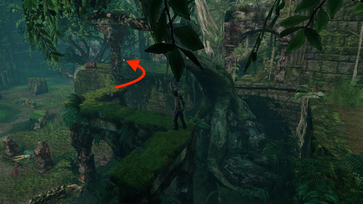 Uncharted: Drake's Fortune Chapter 4 collectible treasure locations