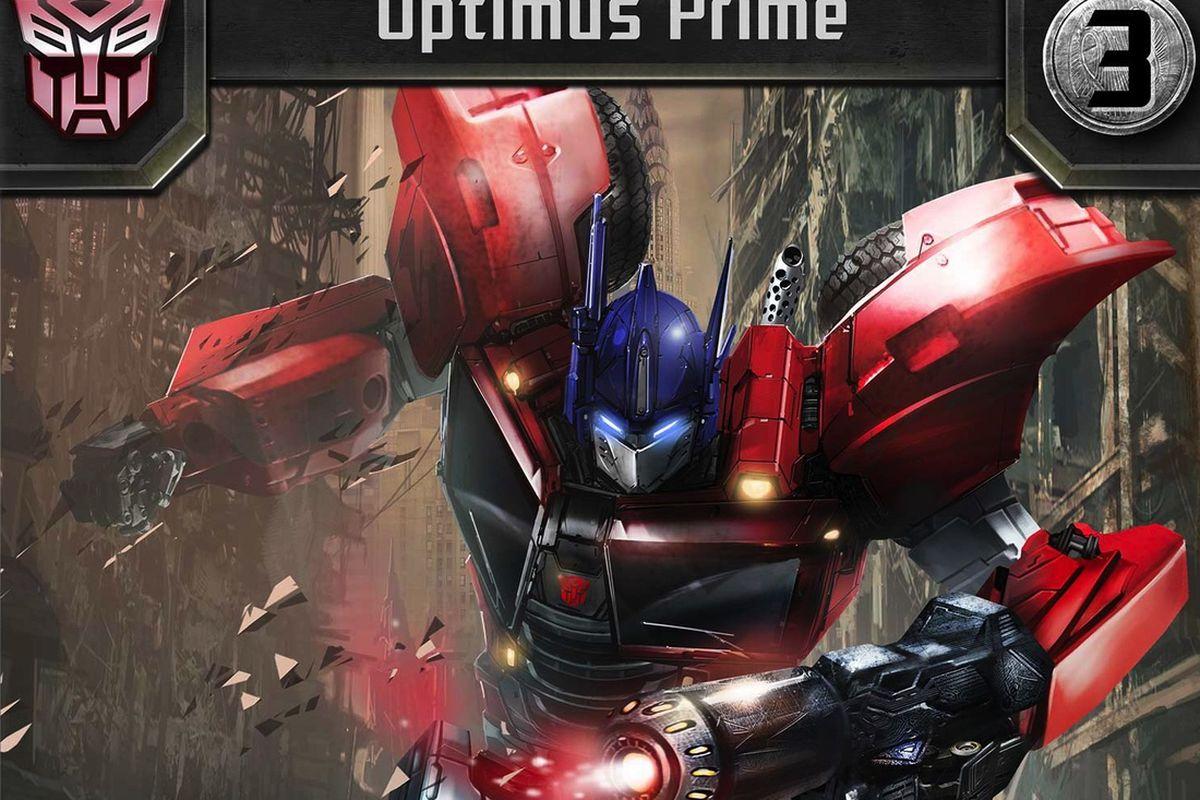 transformers battle optimus prime