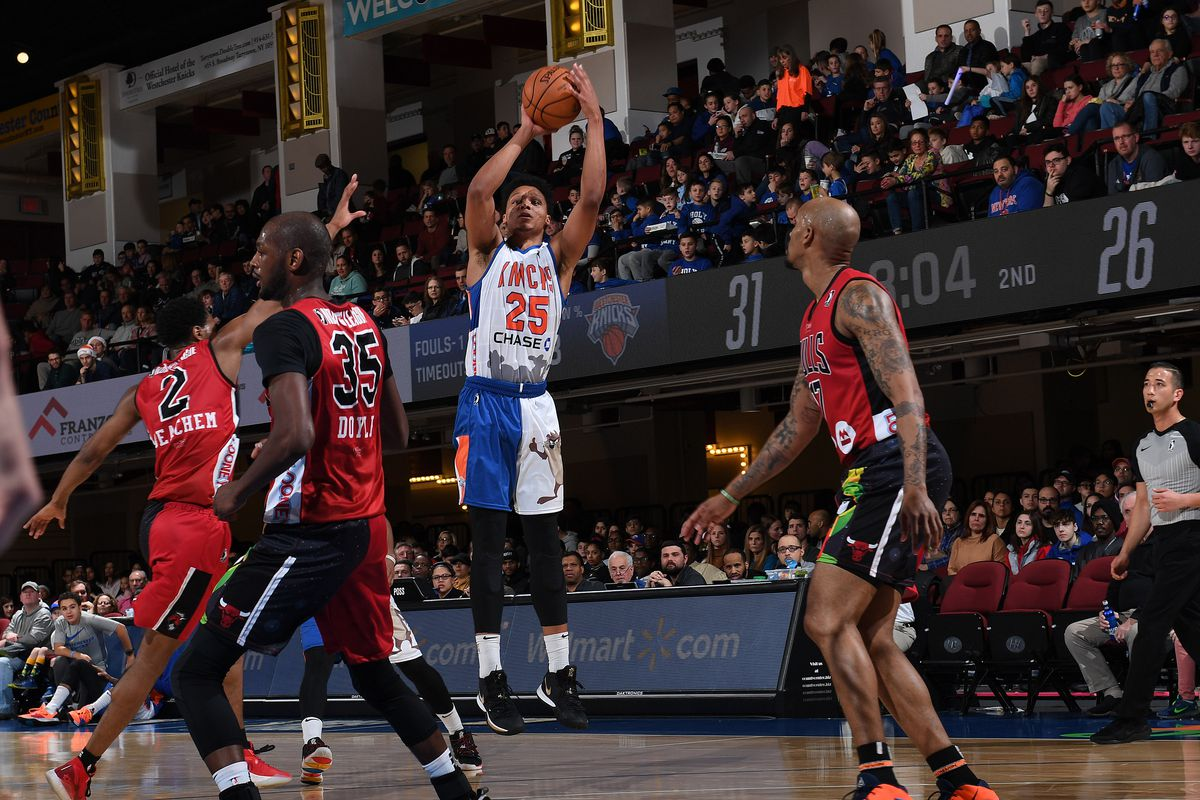 Windy City Bulls v Westchester Knicks
